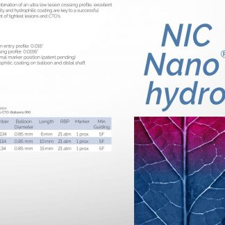 SIS-MEDICAL NIC NANO HYDRO CTO PALLO
